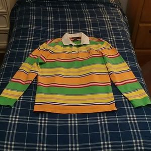 Colorful Ralph Lauren Polo Long Sleeve Shirt